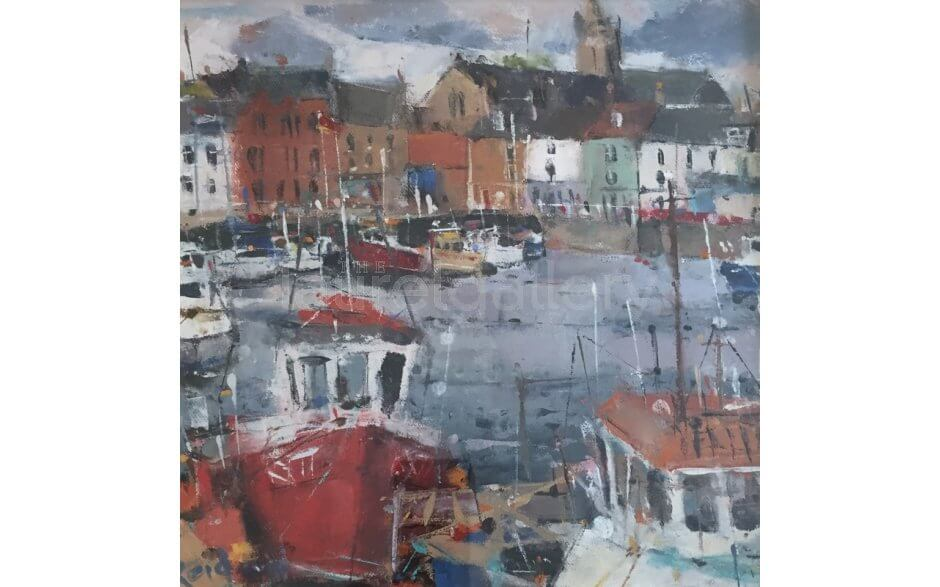 Boats in Harbour Anstruther